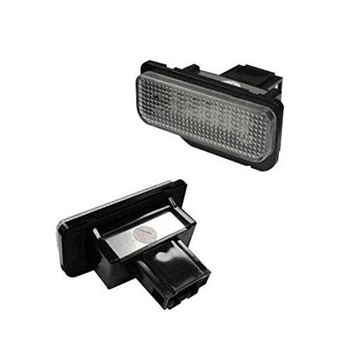 Superb Right 18della lampada della luce targa di libero LED SMD stoerungs Caricabatteria da auto per Benz C E S CLASSE