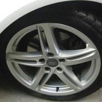 4 Coprimozzo Fregi Audi 60mm A3 A4 A6 S4 Rs3 S Borchie Tappi Cerchi In Lega