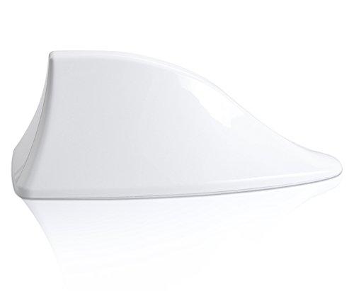 Car Shark Fin Antenna Special Car Radio Aerials Auto Antenna Signal -White