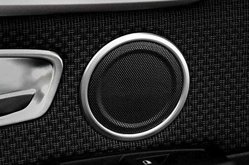Chrome ABS porta interna speaker Frame cover Trim 4pcs