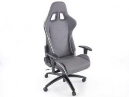 Sedie Da Ufficio In Pelle : Vendita fk automotive sedia da ufficio sedile sportivo con braccioli