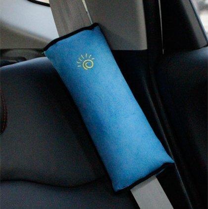 GudeHome infantile Cuscino da viaggio bambino memoria cuscino del collo regolabile per passeggini e seggiolini per auto Bambini Poggiatesta,bianca