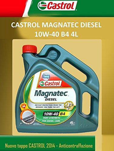 Olio Motore Auto Castrol Magnatec B4 10W40 - 4 litri lt